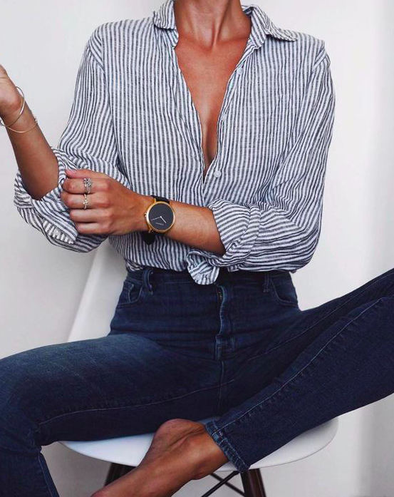 An Effortless Button Down -