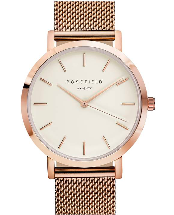 Rosefield Mercer Mesh Strap Watch $109