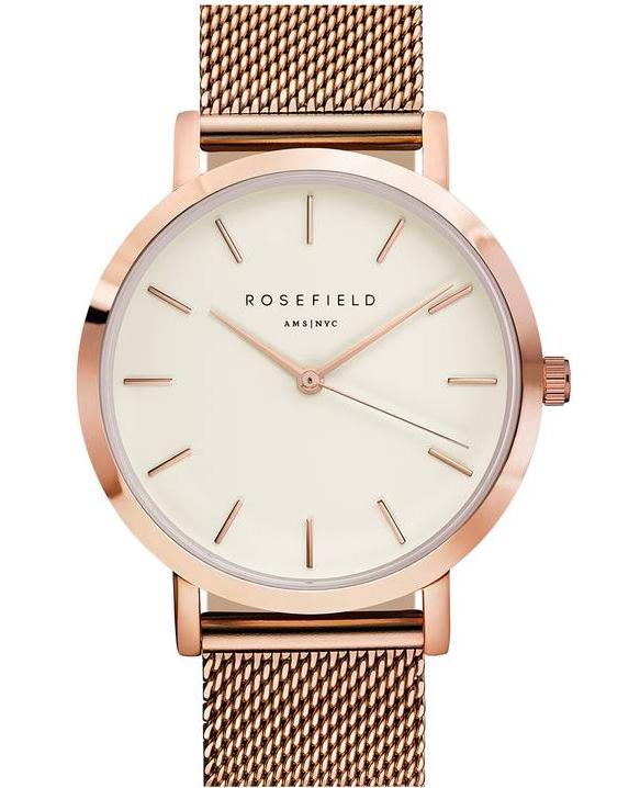 Rosefield Mercer Mesh Strap Watch $109