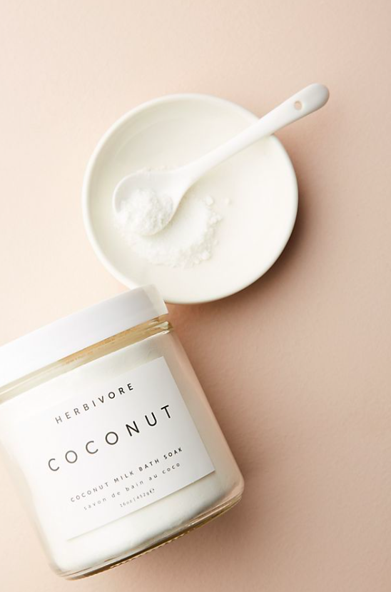 Herbivore Botanicals Coconut Milk Bath Soak $32