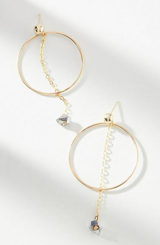Flicker Hooped Earrings $118