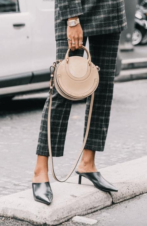 Circular Handbags -