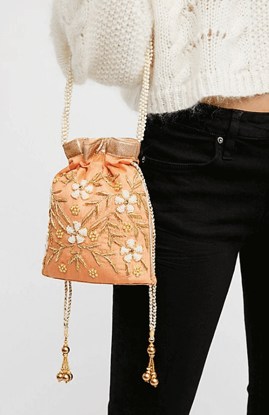 Bouquet Embellished Clutch $58