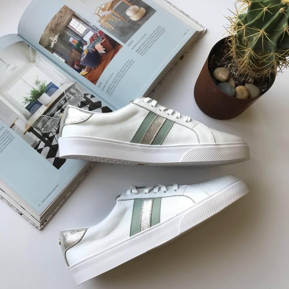 Kaanas Contrast Striped Sneaker $91