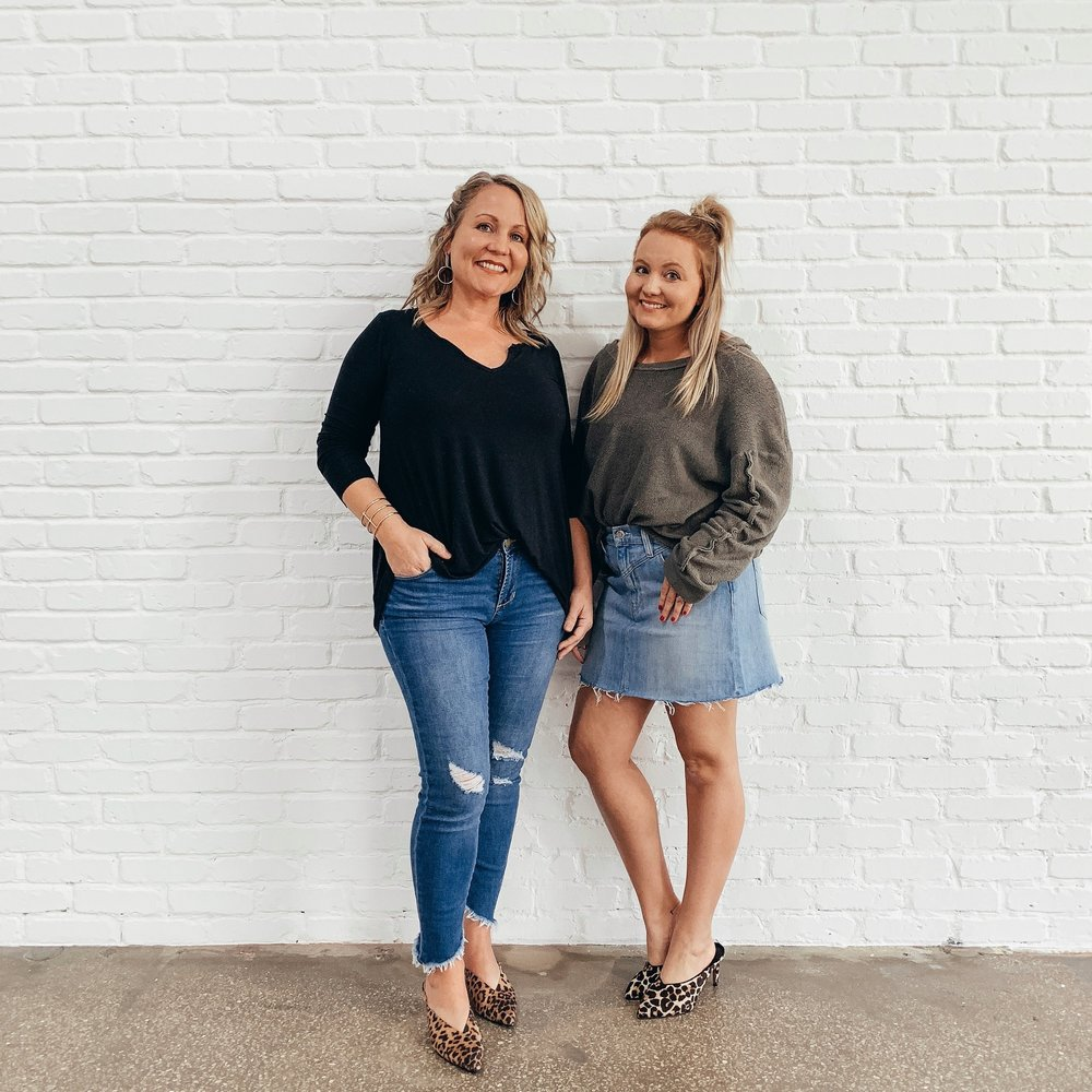Charity Chapman, Stylist (Left) & Danielle Snyder, Stylist (Right)