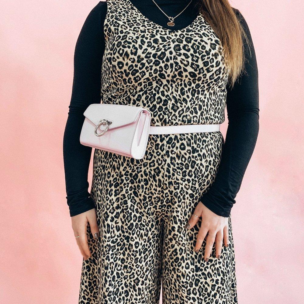 Rebecca Minkoff Jean Pink Belt Bag $198