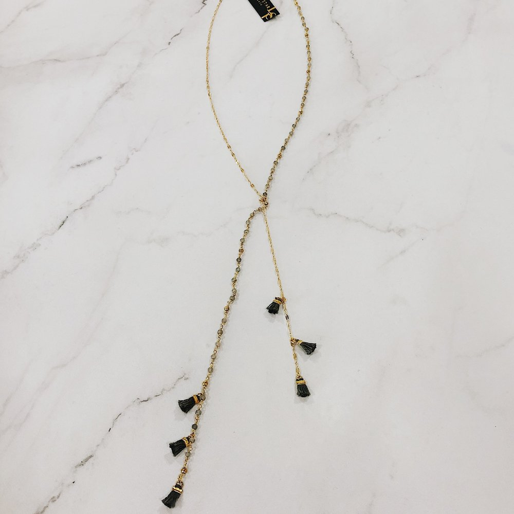 """Lucky Stars """"Once in a Blue Moon"""" Necklace $220"""