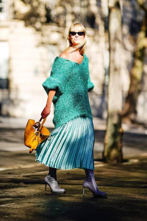 Pleated Skirts -