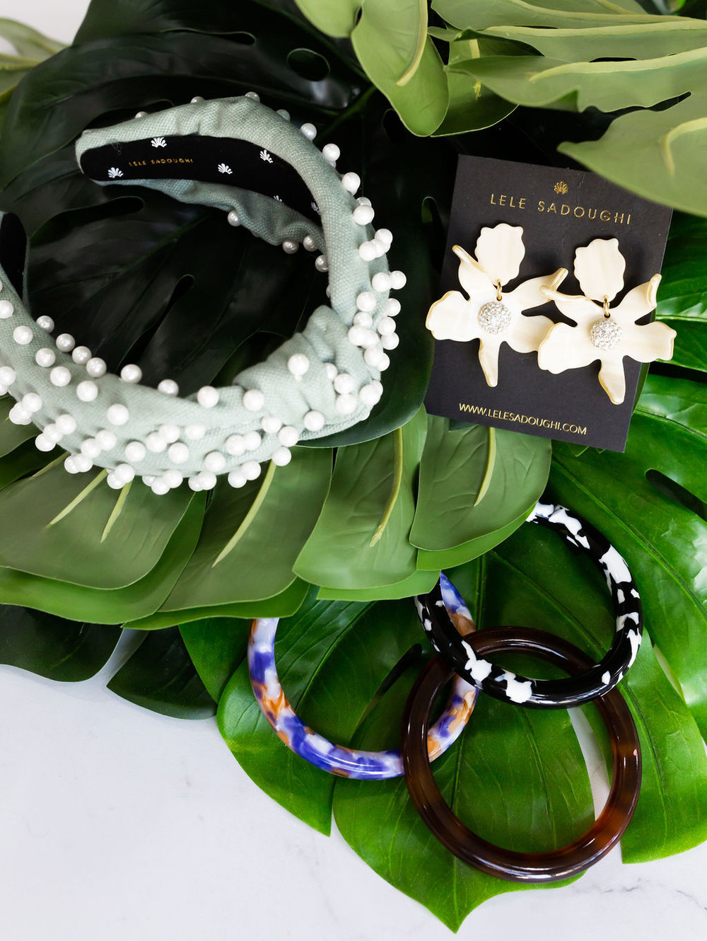 Always Accessorize - Have you tried Lele Sadoughi?