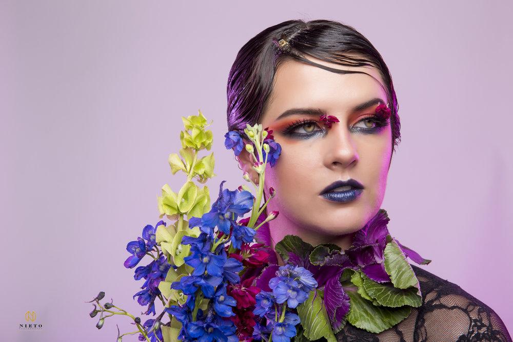 Photographer: Nieto Photography  Model: Leah Lewis  Hair: Alli Carter