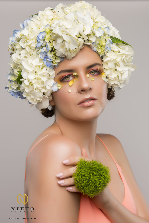 Photographer: Nieto Photography  Model: Leah Lewis  Hair/Headpiece: Alli Carter