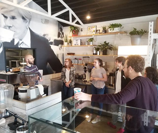 Getting the TopTeam ready for another busy semester of service. See you January 7th @georgiatech ☕🖤