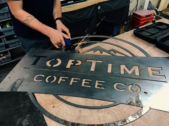 TopTime 2.0 OPENING MONDAY in Van Leer! Come taste the difference from our new location on @georgiatech East Campus! We will be there slingin espresso, drip, baked goods, and cold brew from 8a to 4p every weekday. See you soon ☕🖤
