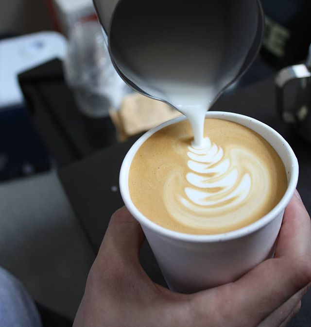 Pouring until 4pm today ☕