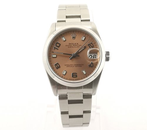 85a78268550 Rolex Oyster Perpetual Datejust Midsize Stainless Steel Automatic Watch Ref.