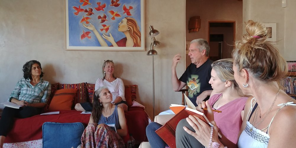 Photo of the 2018 Telepathic Workshop in Taos, New Mexico