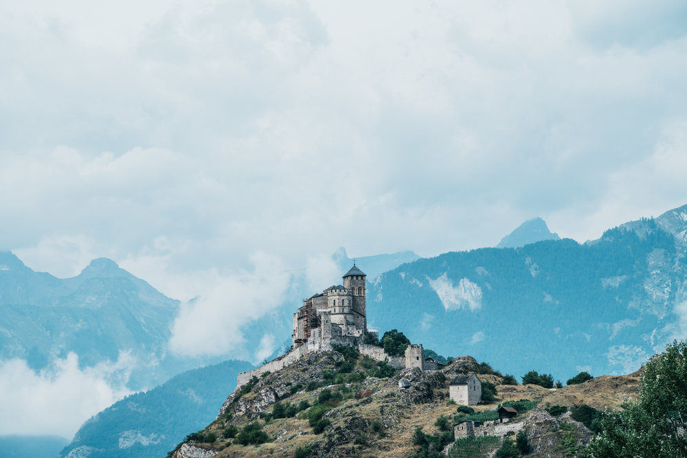 Sion Castle Switzerland Travel Guide