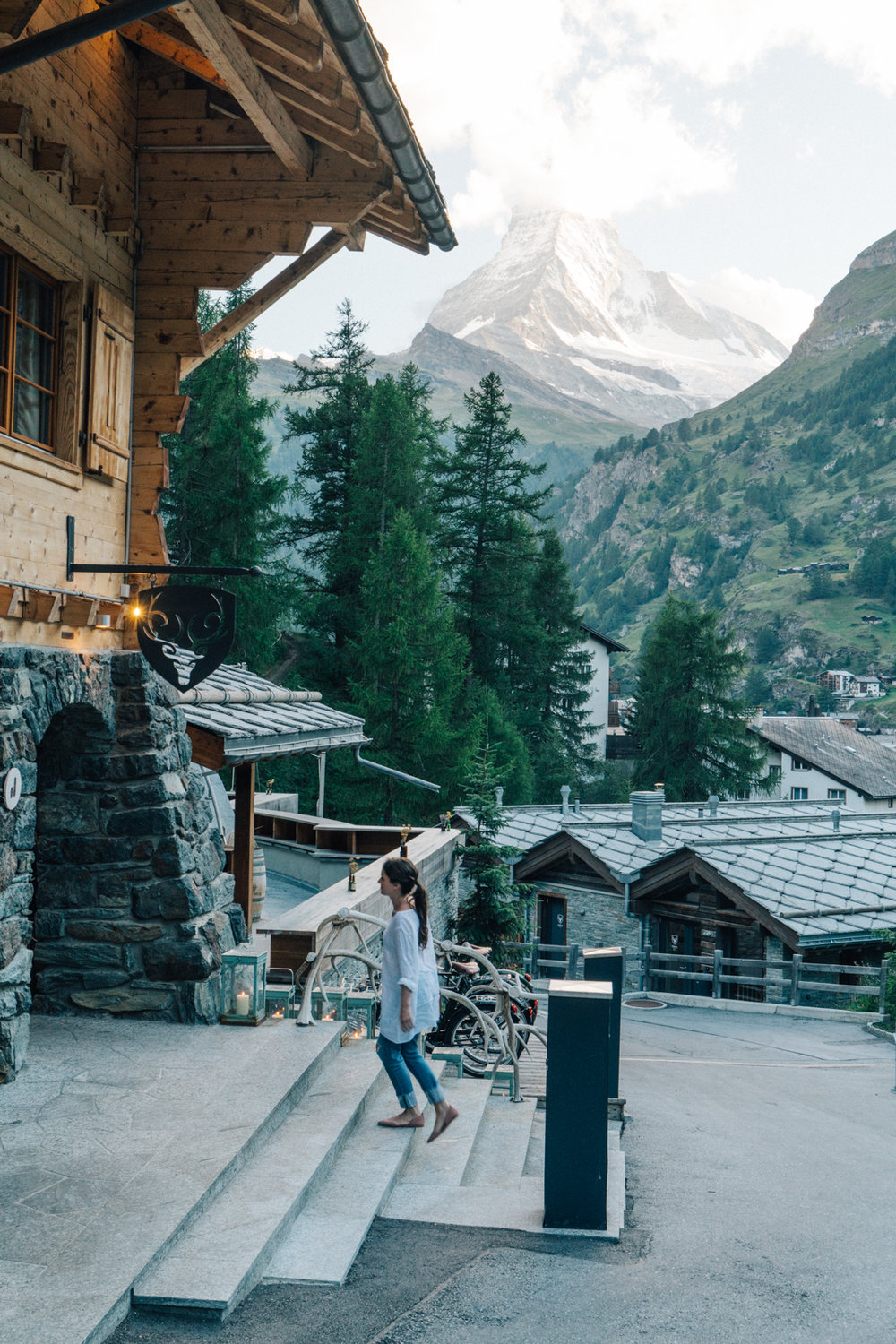 Travel Switzerland Zermatt Matterhorn Hotel