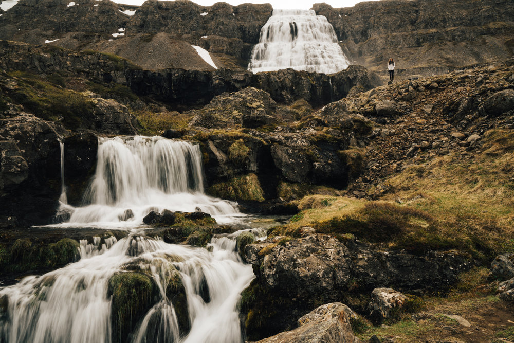 Westfjords Iceland Waterfalls
