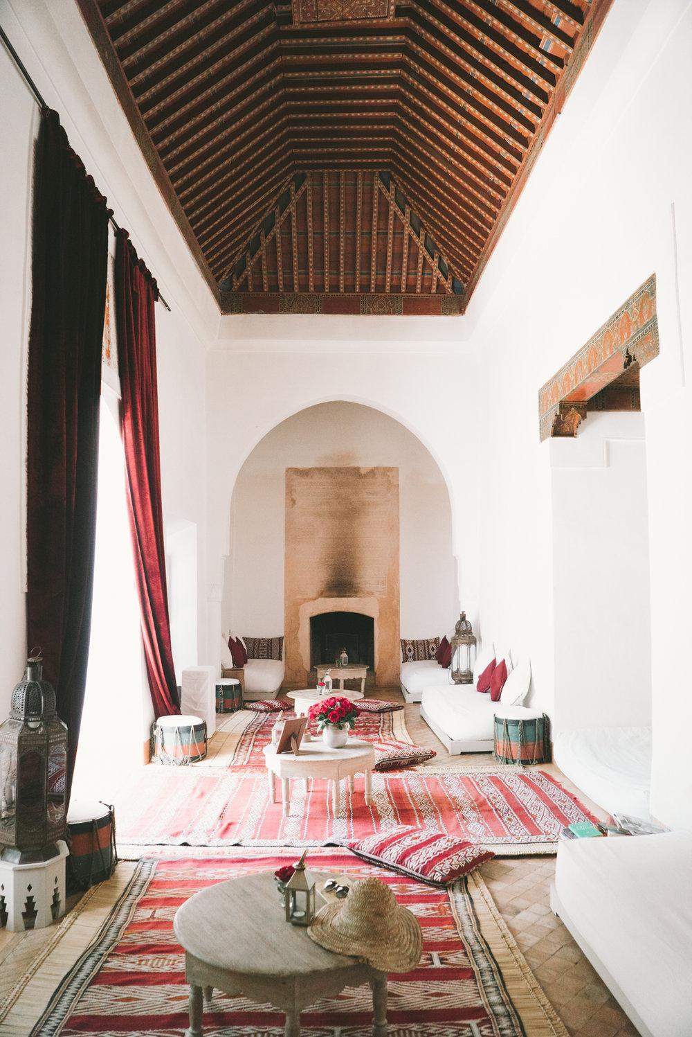 riad berbere marrakech morocco