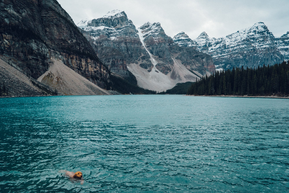 Moriane Lake Alberta Canada