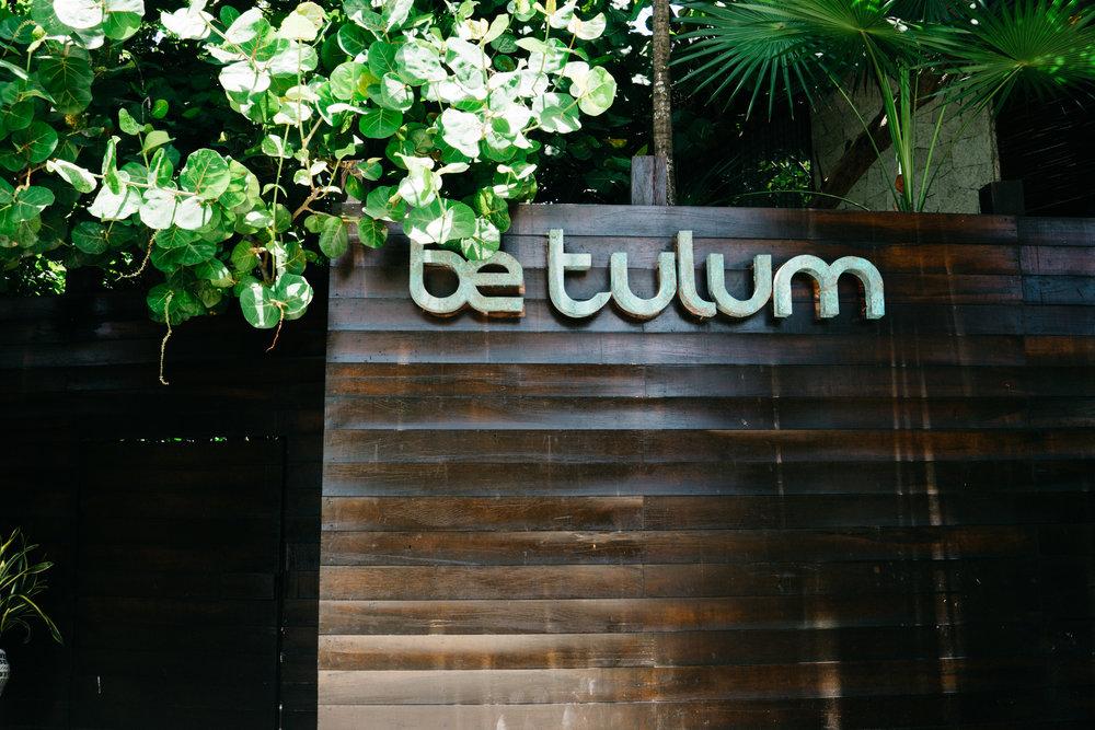 Be Tulum Hotel and restaurant