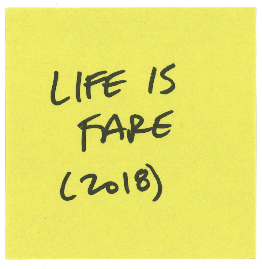 Life is Fare is an award winning film.