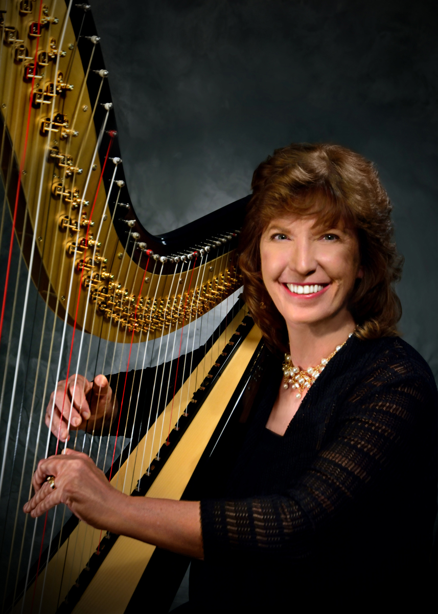 Vicki Smith  will be teaching a group harp class. Vicki has been the Director of Music Ministries at Fellowship Lutheran Church since May of 1996. She has served in church music for over 25 years. Prior to her career in church music, she taught elementary music. She holds a master of Music degree in organ from Oklahoma City University. Vicki is a published composer with Concordia, Choristers Guild, Lake State Publishers, and St. James Press.