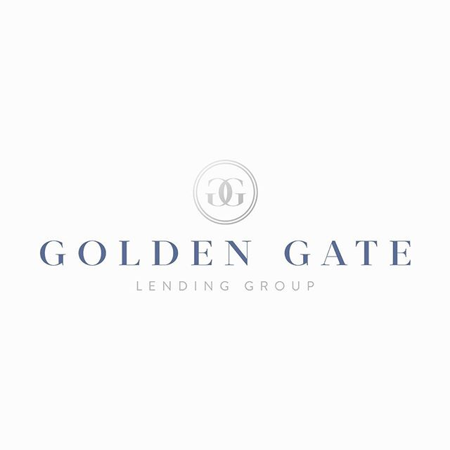 Fresh logo love for Golden Gate Lending Group #knockoutdesign