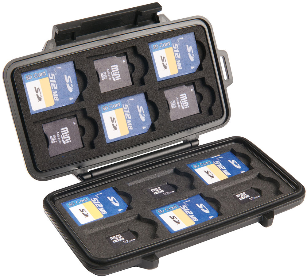 PELICAN SD CARD HOLDER