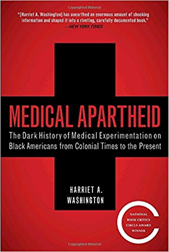From the era of slavery to the present day, the first full history of black America's shocking mistreatment as unwilling and unwitting experimental subjects at the hands of the medical establishment.   Medical Apartheid  is the first and only comprehensive history of medical experimentation on African Americans. Starting with the earliest encounters between black Americans and Western medical researchers and the racist pseudoscience that resulted, it details the ways both slaves and freedmen were used in hospitals for experiments conducted without their knowledge—a tradition that continues today within some black populations. It reveals how blacks have historically been prey to grave-robbing as well as unauthorized autopsies and dissections. Moving into the twentieth century, it shows how the pseudoscience of eugenics and social Darwinism was used to justify experimental exploitation and shoddy medical treatment of blacks, and the view that they were biologically inferior, oversexed, and unfit for adult responsibilities. Shocking new details about the government's notorious Tuskegee experiment are revealed, as are similar, less-well-known medical atrocities conducted by the government, the armed forces, prisons, and private institutions.  The product of years of prodigious research into medical journals and experimental reports long undisturbed,  Medical Apartheid  reveals the hidden underbelly of scientific research and makes possible, for the first time, an understanding of the roots of the African American health deficit. At last, it provides the fullest possible context for comprehending the behavioral fallout that has caused black Americans to view researchers—and indeed the whole medical establishment—with such deep distrust. No one concerned with issues of public health and racial justice can afford not to read  Medical Apartheid , a masterful book that will stir up both controversy and long-needed debate.