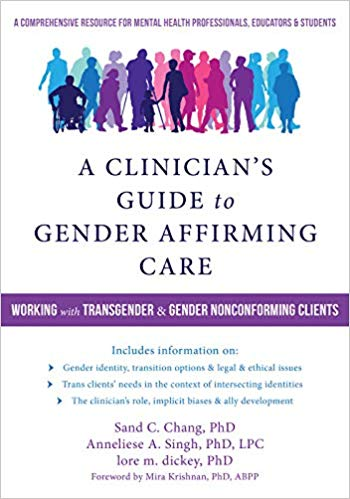 Transgender and gender nonconforming (TNGC) clients have complex mental health concerns, and are more likely than ever to seek out treatment. This comprehensive resource outlines the latest research and recommendations to provide you with the requisite knowledge, skills, and awareness to treat TNGC clients with competent and affirming care.  As you know, TNGC clients have different needs based on who they are in relation to the world. Written by three psychologists who specialize in working with the TGNC population, this important book draws on the perspective that there is no one-size-fits-all approach for working with TNGC clients. It offers interventions tailored to developmental stages and situational factors—for example, cultural intersections such as race, class, and religion.  This book provides up-to-date information on language, etiquette, and appropriate communication and conduct in treating TGNC clients, and discusses the history, cultural context, and ethical and legal issues that can arise in working with gender diverse individuals in a clinical setting. You'll also find information about informed consent approaches that call for a shift in the role of the mental health provider in the position of assessment and referral for the purposes of gender-affirming medical care (such as hormones, surgery, and other procedures).  As changes in recent transgender health care and insurance coverage have provided increased access for a broader range of consumers, it is essential to understand transgender and gender nonconforming clients' different needs. This book provides practical exercises and skills you can use to help TNGC clients thrive