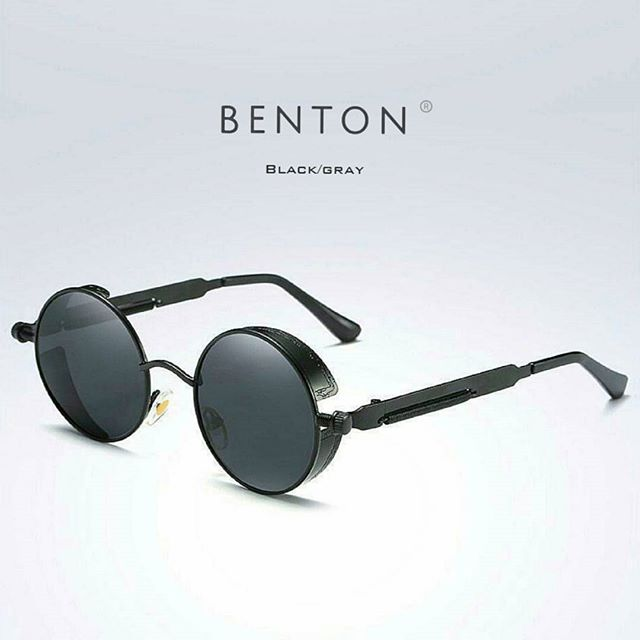 "#bentonapparel ▪""Retro Steampunk Sunglasses"". Priced at 35$ . . ▪Order Today & get free worldwide shipping 👉 Available at @bentonapparel"