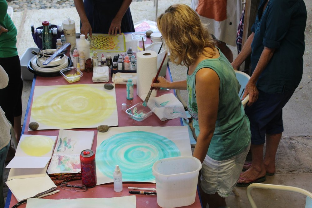 Art Events  - These are fun and inspiring happenings that can take place at your event or be an event!