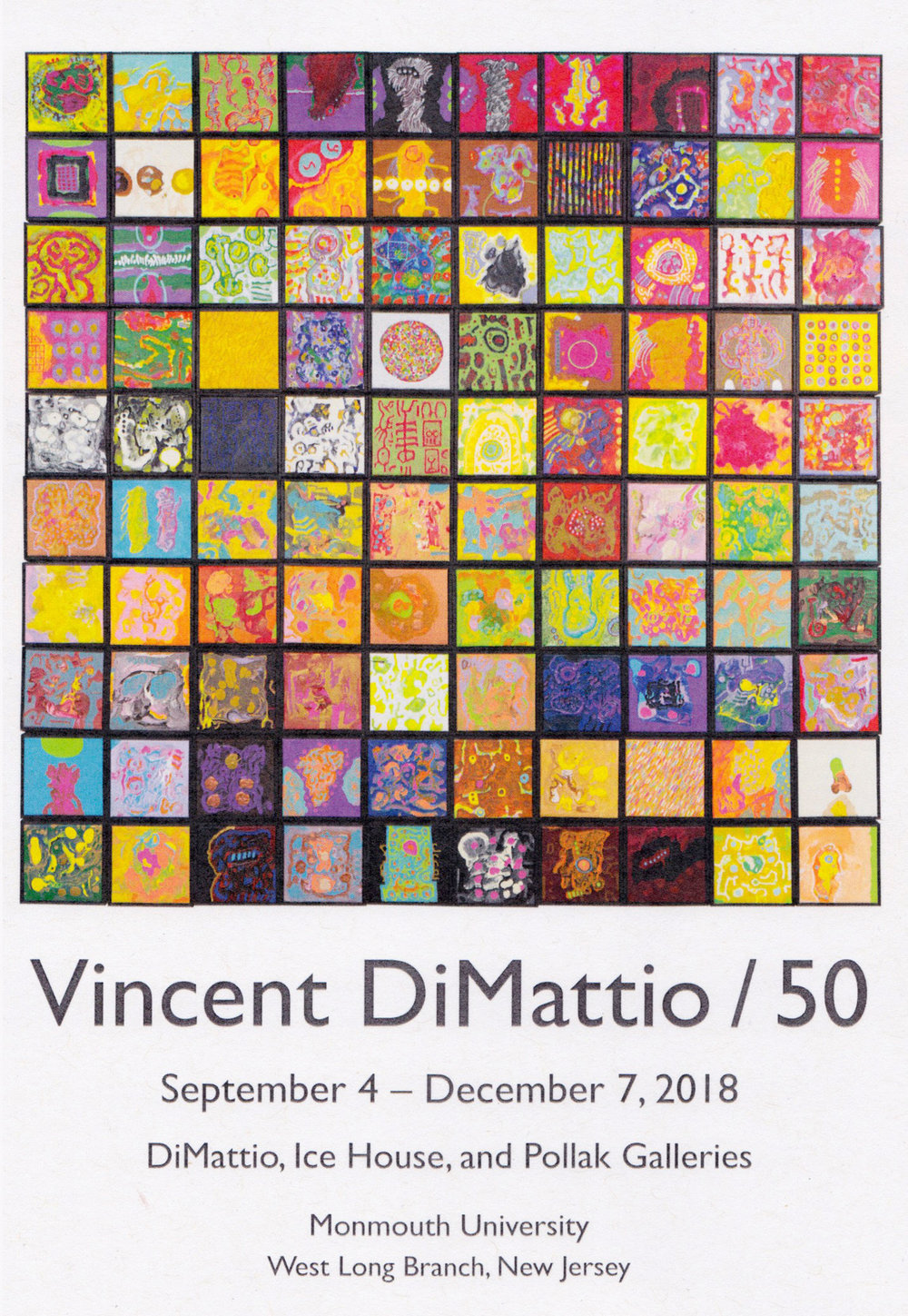 Vincent DiMattio/50 - September 4 – December 7, 2018