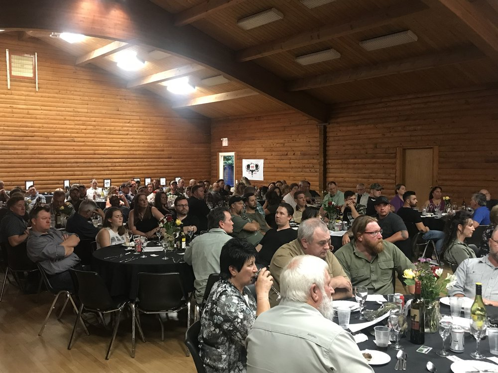 2018 SCI Westcoast Chapter Banquet - take part in 2019