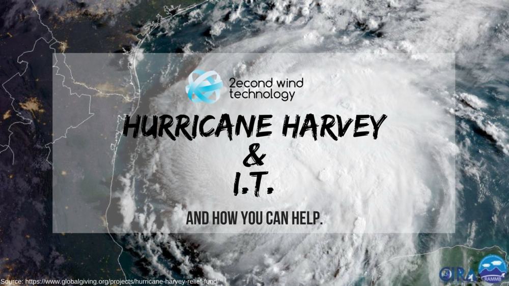 2econd Wind Technology Hurricane Harvey Hurricane Katrina