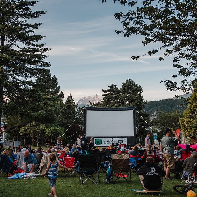 Movie Under the Stars - Click for photos