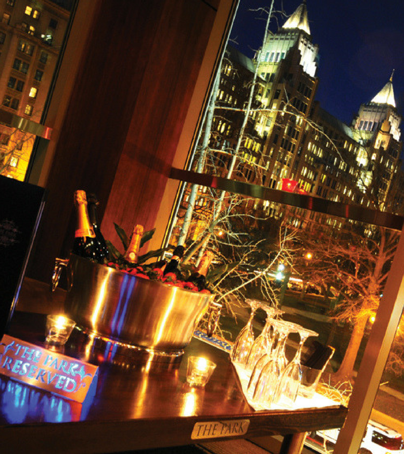 Elite Service - At The Park, you are a VIP, so why not celebrate like one? Experience the luxury of amazing views of the city in the comfort of your own private section.