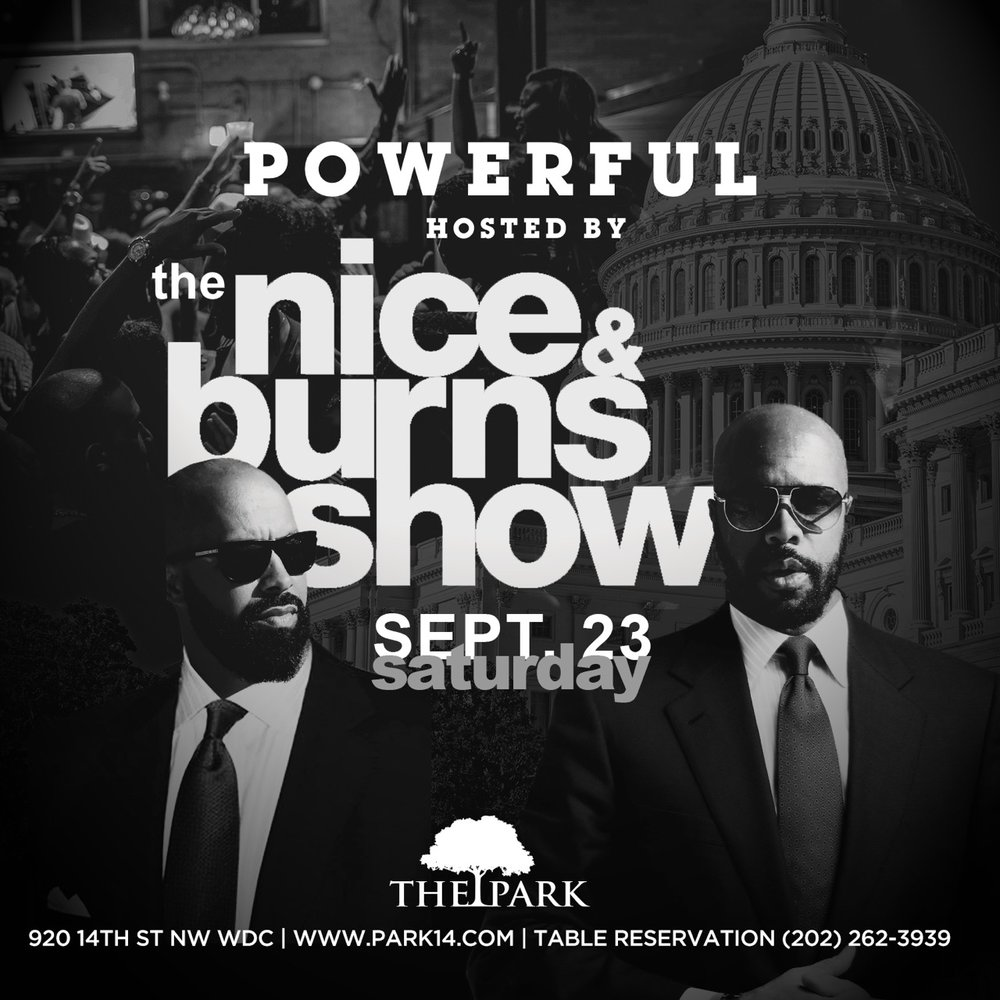 Kenny Burns, the entertainment industry executive, television and radio host, entrepreneur and Senior Vice President of Brand Development for Combs Enterprises will host #TheNiceAndBurnsShow This Saturday! DJ D-Nice, the world famous DJ that has collaborated with countless artist, will also be in the building and spinning for our late night party! RSVP FOR COMPLIMENTARY BEFORE 11PM
