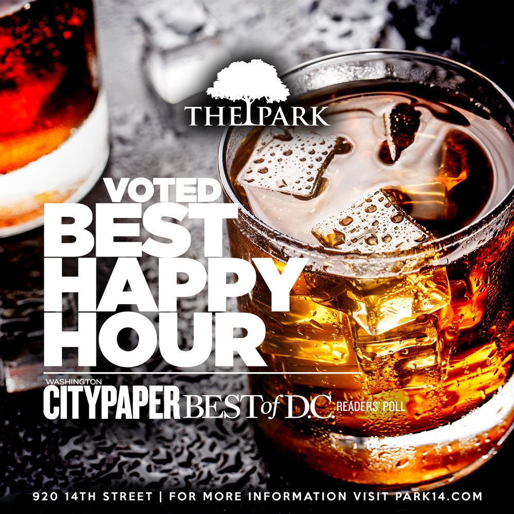 Voted Best Happy Hour - Washington City Paper Best of D.C.
