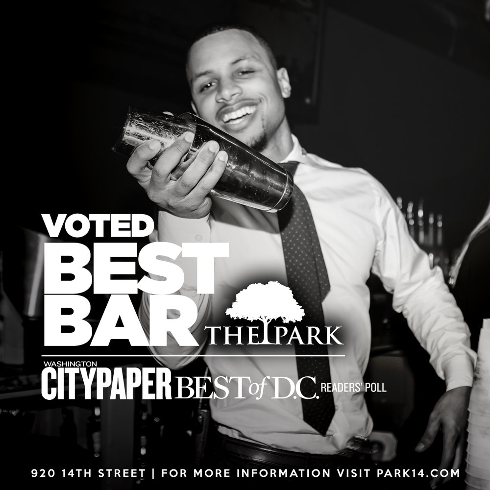 Voted Best Bar - Washington City Paper Best of D.C.