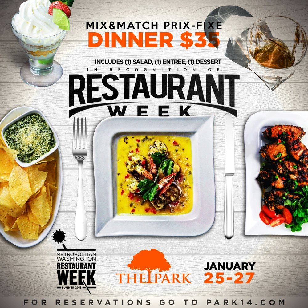 Restaurant Week DC