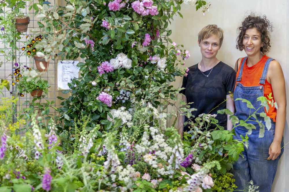 Seasonal eco-friendly & Sustainable London grown flowers