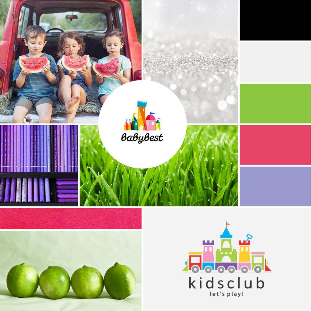 Kids Eating Watermelon /  Salt /  Crayons  / Babybest  / Grass /  Limes /  Kids Club