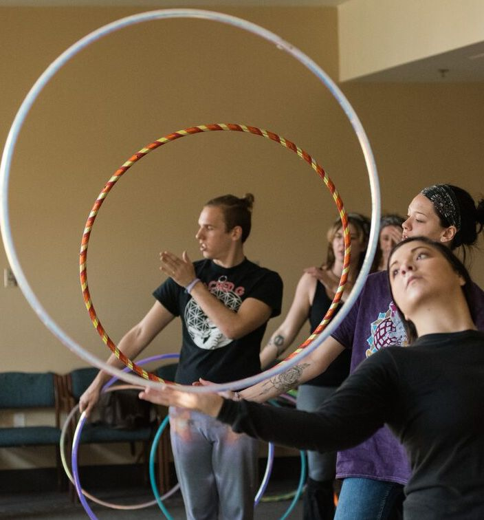 BENJAMIN BERRY - HULA HOOP INSTRUCTORBenjamin has been teaching since 2015, when he connected with the online hooping community by participating in Hooping Idol Season 5 and the Electric Forest Hoop Troupe contest. This ultimately earned him Hooping.org's