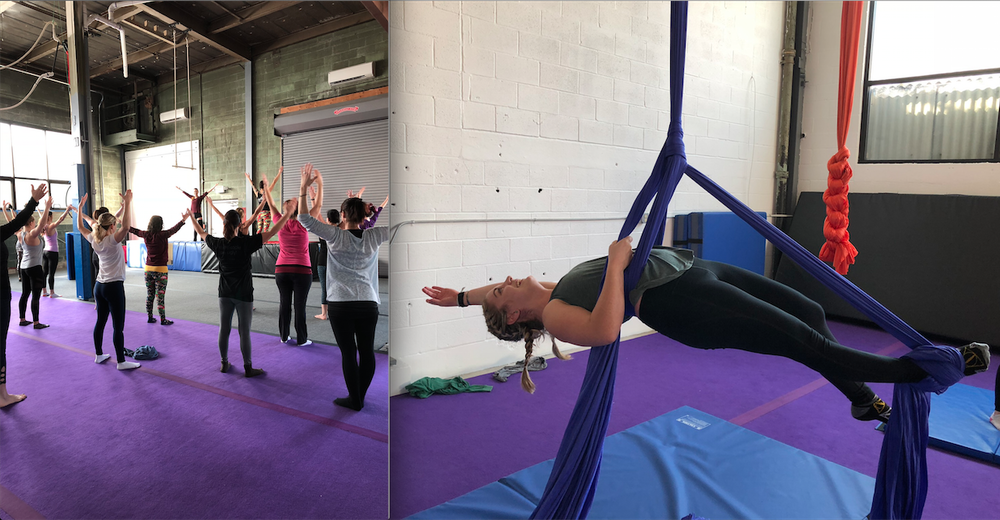 Yoga & Flying - WITH MEGHAN SACKMAN & ONE YOGASUNDAY, JAN 20TH, 1:OO- 3:30 PM