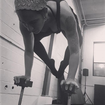 HAND BALANCING ON CANES - WITH JULIANA VONRAINBOWPANTS!SATURDAY, DEC 29TH, 3:OO- 5:00 PM