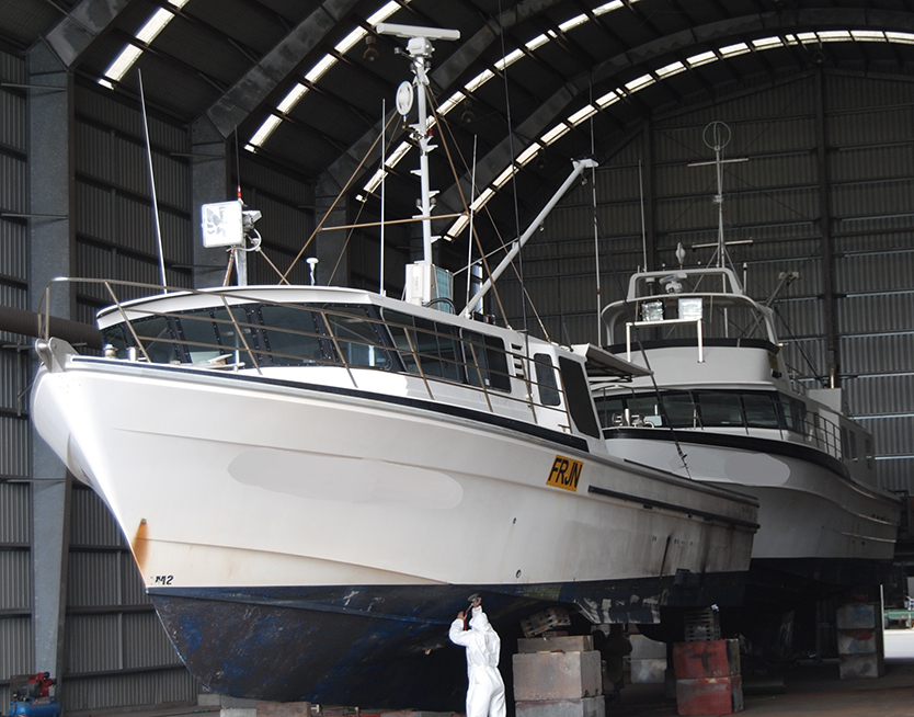 2 Commercial Fishing Boats from Mooloolaba