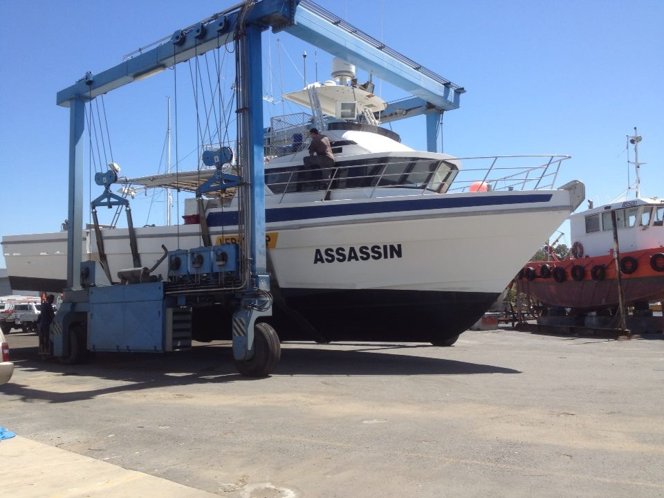 "Commercial Tuna Fishing Boat ""Assassin"", a Walker Seafoods vessel from Mooloolaba"